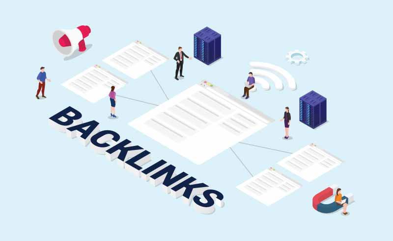 Backlink grafico